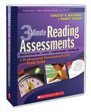 3-Minute Reading Assessments