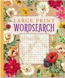 Large Print Wordsearch PDF