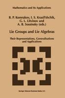 Lie Groups and Lie Algebras PDF