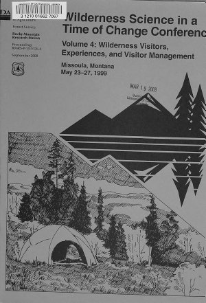 Wilderness Science in a Time of Change Conference PDF