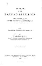 Events in the Taeping Rebellion