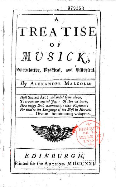 Download A Treatise of Musick Book