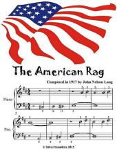 American Rag - Easiest Piano Sheet Music Junior Edition