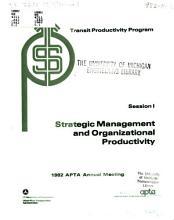 Transit Productivity Program PDF