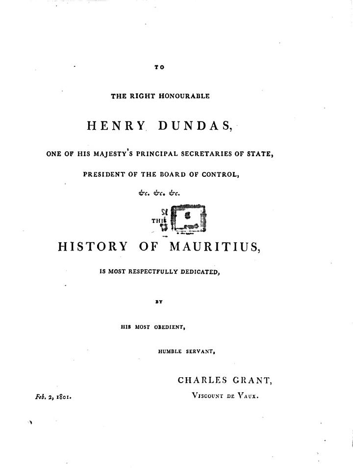 The History of Mauritius, Or the Isle of France, and the Neighbouring Islands