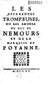 Les Apparences trompeuses, ou Les Amours du duc de Nemours et de la marquise de Poyanne