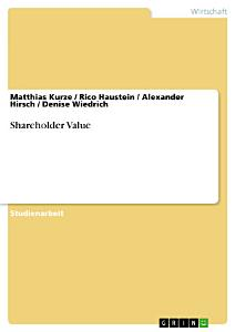 Shareholder Value PDF