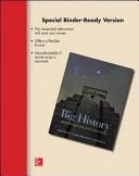 Looseleaf for Big History PDF