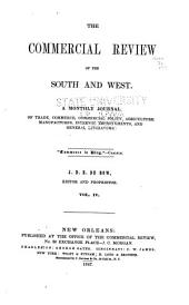 De Bow's Commercial Review of the South & West: Volume 4