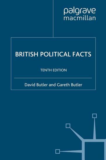 British Political Facts PDF