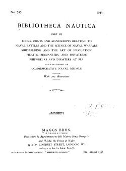 Bibliotheca Nautica PDF
