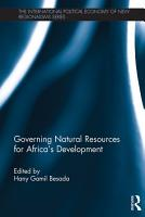 Governing Natural Resources for Africa   s Development PDF