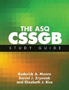The ASQ CSSGB Study Guide PDF