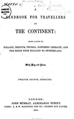 A Handbook for Travellers on the Continent PDF