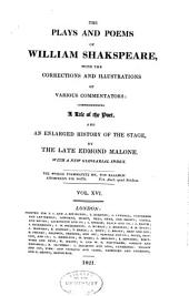 The plays and poems of William Shakspeare: Volume 16