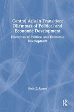 Central Asia in Transition PDF