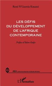Les défis du développement de l'Afrique contemporaine