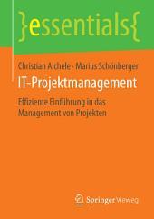 IT-Projektmanagement: Effiziente Einführung in das Management von Projekten