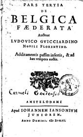 Belgicae, sive Inferioris Germaniae descriptio: Volume 2