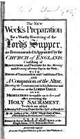 The new week s preparation for a worthy receiving of the Lord s Supper  as recommended and appointed by the Church of England     The fourteenth edition PDF
