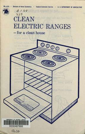 Clean Electric Ranges PDF