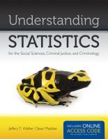 Understanding Statistics for the Social Sciences  Criminal Justice  and Criminology PDF
