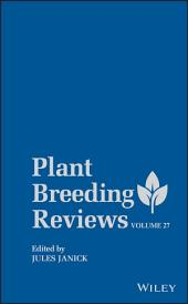 Plant Breeding Reviews: Volume 72