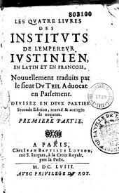 Les IV livres des Justitutes