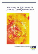 Measuring the Effectiveness of Your ISMS Implementations Based on ISO IEC 27001 PDF