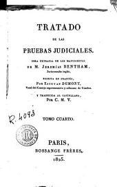 Tratado de las pruebas judiciales, 4: obra extraida de los manuscritos de M. Jeremías Bentham