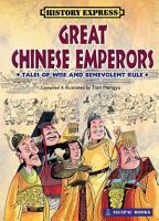 Great Chinese Emperors  2010 Edition   EPUB  PDF