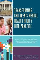 Transforming Children s Mental Health Policy into Practice PDF
