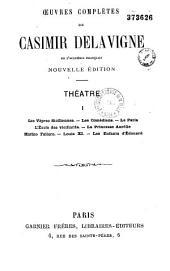 Théâtre de Casimir Delavigne