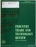 Industry  Trade  and Technology Review PDF