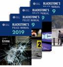Blackstone s Police Manuals 2019 PDF