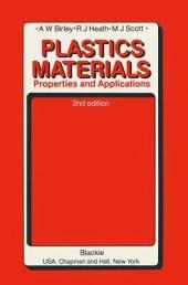 Plastics Materials: Properties and Applications