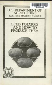 Farmers' Bulletin: Issue 1332