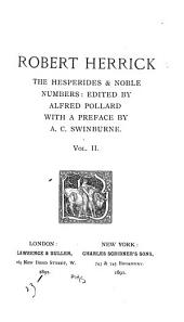 The Hesperides & Noble Numbers: Volume 2