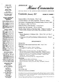 The Journal of Home Economics PDF