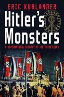 Hitler s Monsters PDF