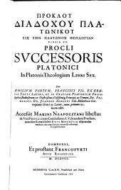 Eis tēn Platōnos theologian biblia hex