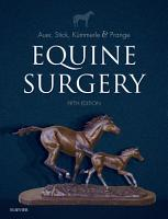 Equine Surgery   E Book PDF