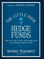 The Little Book of Hedge Funds PDF