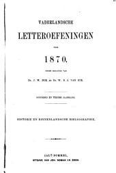 Vaderlandsche letter-oefeningen, of tijdschrift van kunsten en wetenschappen, waarin de boeken en schriften, die dagelijks in ons vaderland en elders uitkomen, oordeelkundig tevens en vrijmoedig verhandeld worden: benevens mengelwerk, tot fraaije letteren, kunsten en wetenschappen, betrekkelijk: Volume 115
