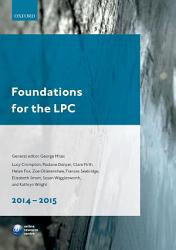Foundations for the LPC 2014 15 PDF