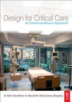 Design for Critical Care PDF