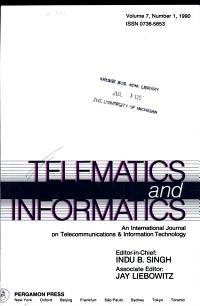 Telematics and Informatics  Volume 7  Number 1