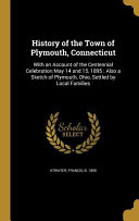 HIST OF THE TOWN OF PLYMOUTH C