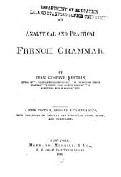 An Analytical and Practical French Grammar