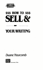 How to Sell & Re-sell Your Writing